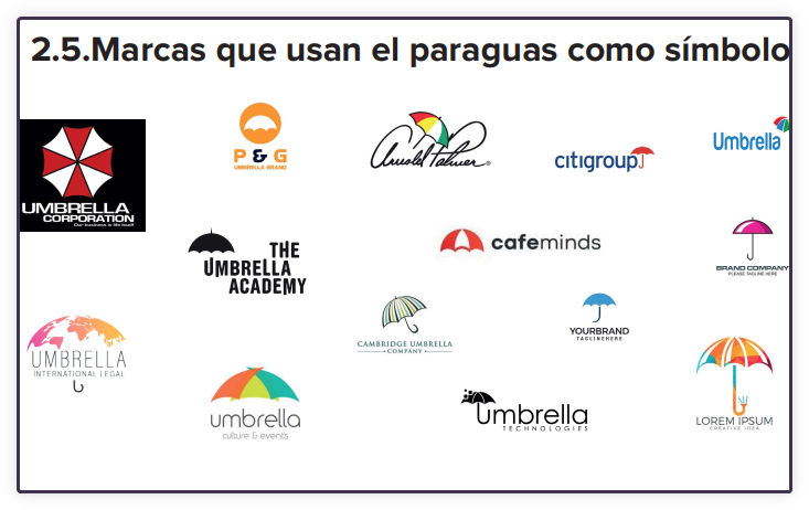 marcas paraguas